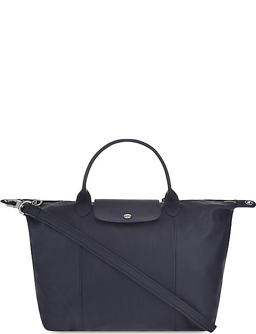 ba03d462363c LONGCHAMP - Le Pliage Cuir medium leather shopper