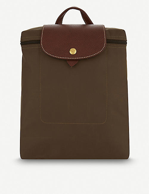LONGCHAMP: Le Pliage nylon backpack