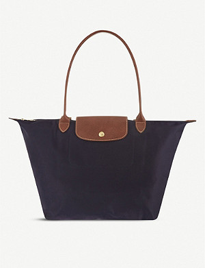 LONGCHAMP Le Pliage large canvas tote bag