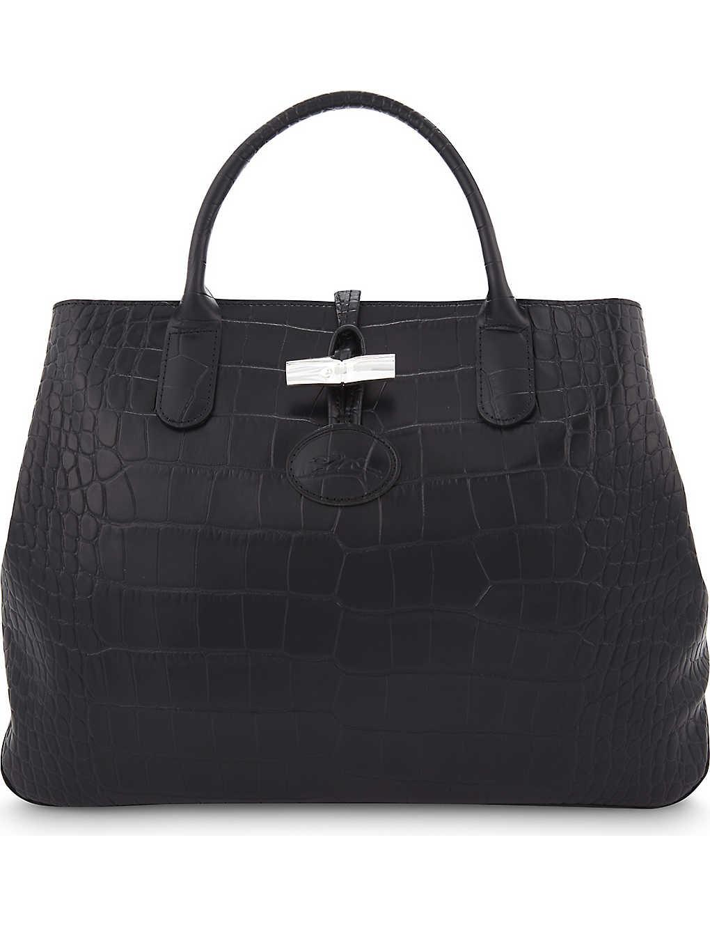 07e4dfe46fd LONGCHAMP - Roseau medium leather tote | Selfridges.com