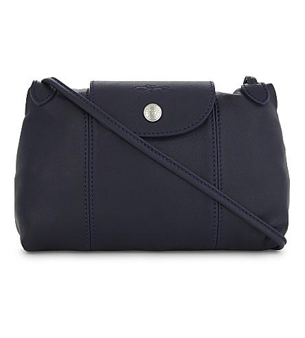 068adb3cbd9d LONGCHAMP - Le Pliage Cuir leather cross-body bag | Selfridges.com