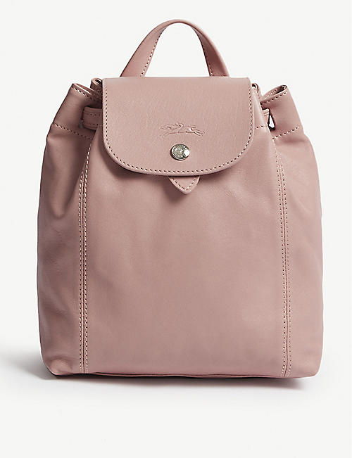 8972aab03525 LONGCHAMP - Le Pliage Cuir extra-small leather backpack