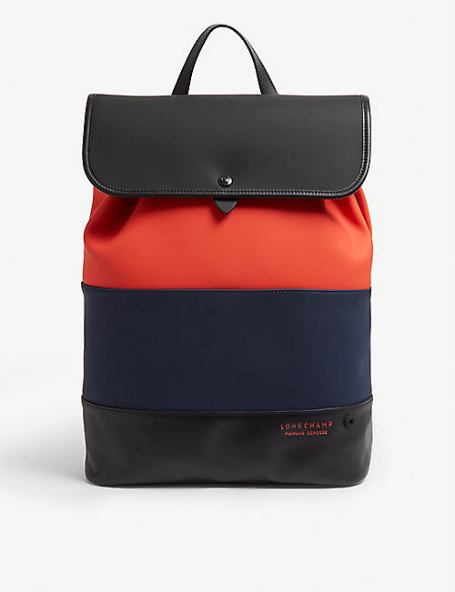 9b076cbda17f LONGCHAMP Moonshot neoprene backpack