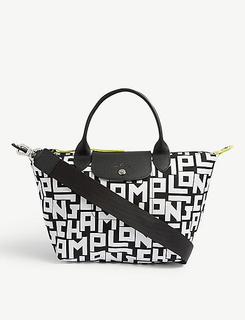 ff676824d462 LONGCHAMP Le Pliage canvas shoulder bag