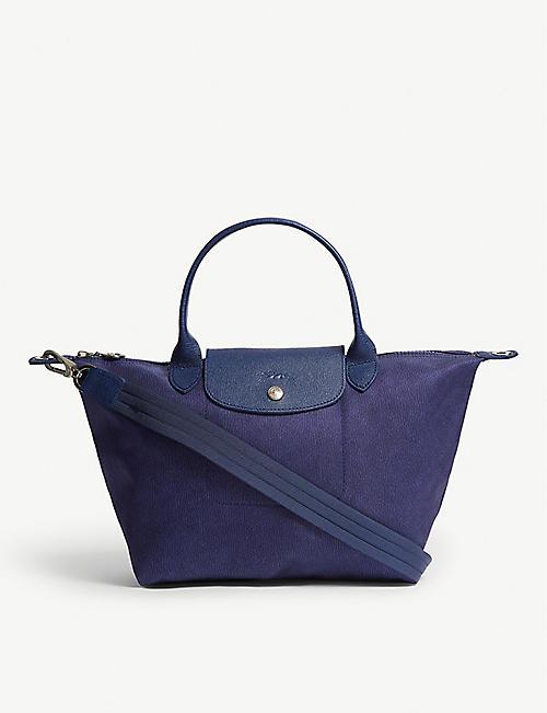 22e61a431f2e LONGCHAMP Le Pliage Neo small top handle bag
