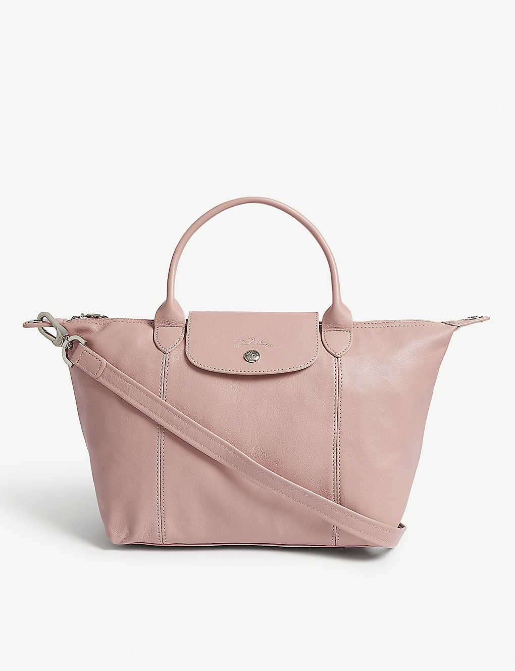 LONGCHAMP Le Pliage Cuir Metis leather shoulder bag
