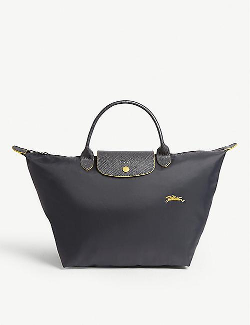 Longchamp bags - Le Pilage, weekend bags   more   Selfridges 760f547ebd