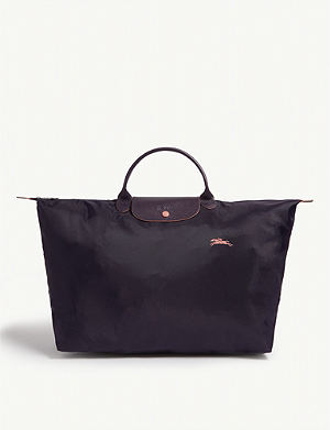 LONGCHAMP - Le Pliage leather shoulder bag  9a55d0323409d