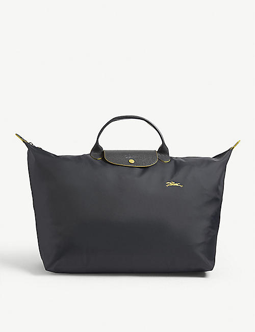 Longchamp bags - Le Pilage, weekend bags   more   Selfridges af4bb85e00