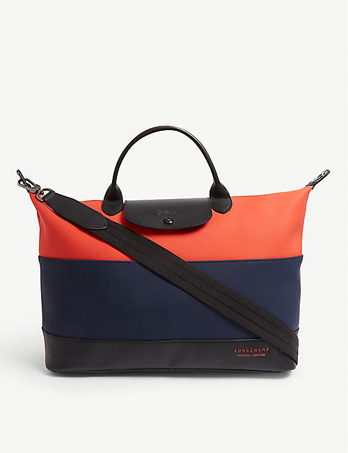 LONGCHAMP Moonshot neoprene striped tote