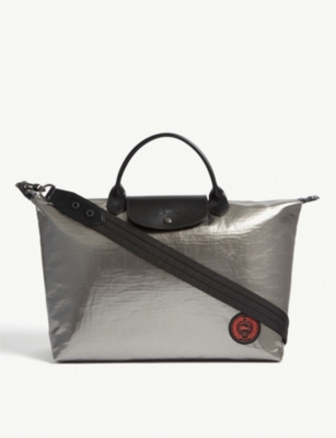 LONGCHAMP Astronaute metallic shoulder bag