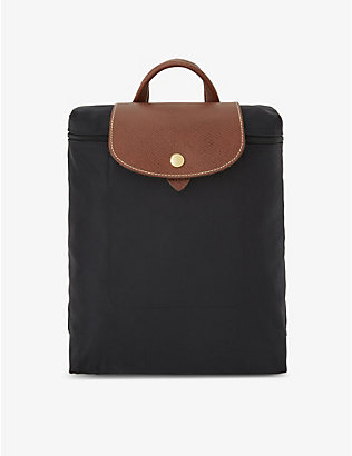 LONGCHAMP: Le Pliage nylon canvas backpack