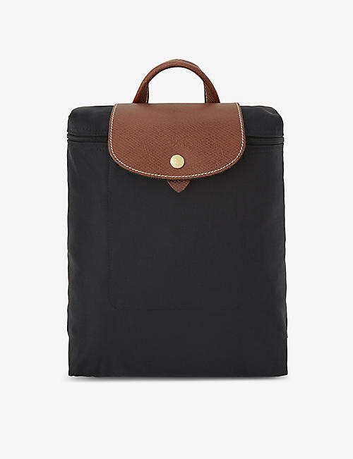 f62faa47add LONGCHAMP Le Pliage nylon canvas backpack