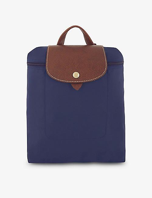 LONGCHAMP Le Pliage nylon canvas backpack e134daf484