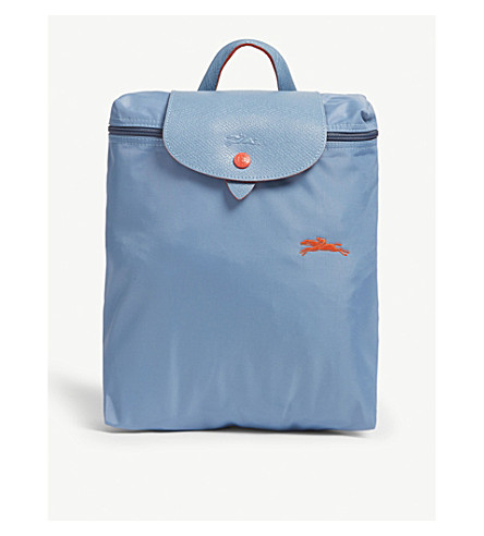 6540a78e33a74 ... LONGCHAMP Le Pliage Club backpack (Blue+mist. PreviousNext