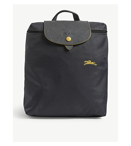bc29c2aec899 ... LONGCHAMP Le Pliage Club backpack (Gunmetal. PreviousNext