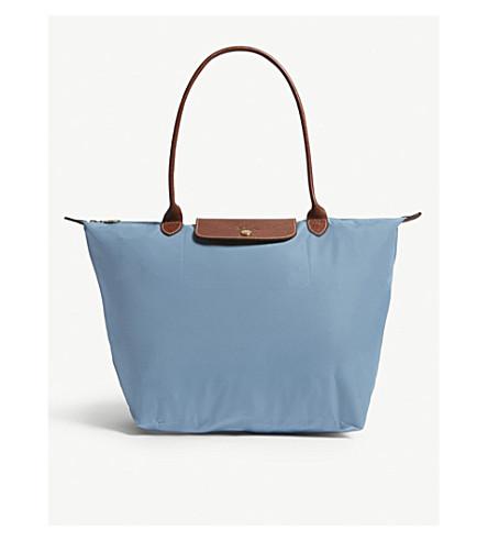 LONGCHAMP Le Pliage large shoulder bag (Artic 4db4b161b29a1