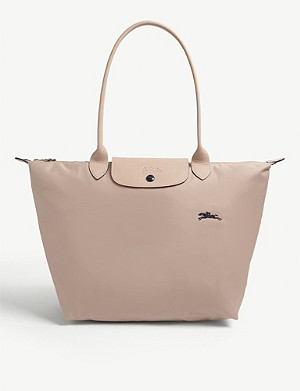 LONGCHAMP Le Pliage Club leather tote bag