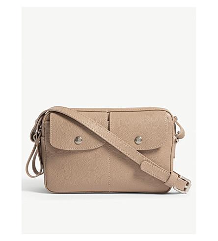 2b5c9d64c9f3 ... LONGCHAMP Le Foulonné large leather cross-body bag (Greige. PreviousNext