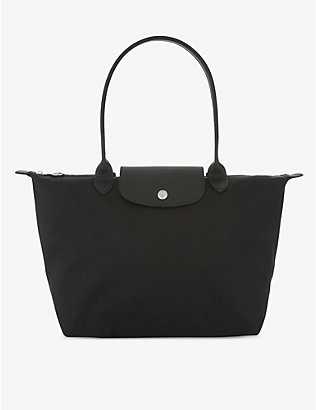 LONGCHAMP: Le Pliage Neo small nylon tote bag