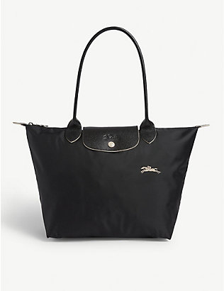 LONGCHAMP: Le Pliage Club small nylon tote