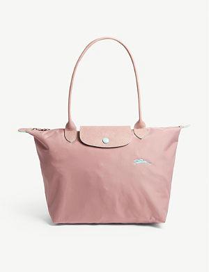 LONGCHAMP - Roseau medium leather tote bag  3c358dd5f48b3