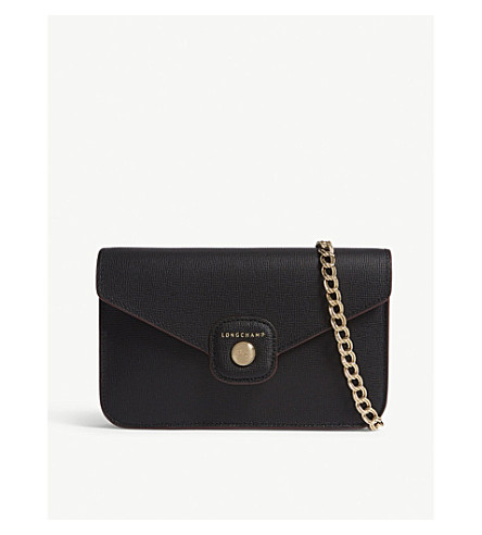 ... LONGCHAMP Le Pliage Heritage leather wallet (Noir. PreviousNext 34872133a506c