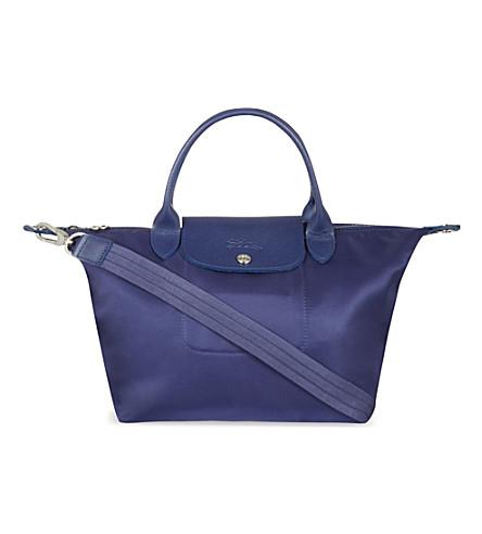9ad5466bed4c LONGCHAMP Le Pliage Neo small handbag (Navy
