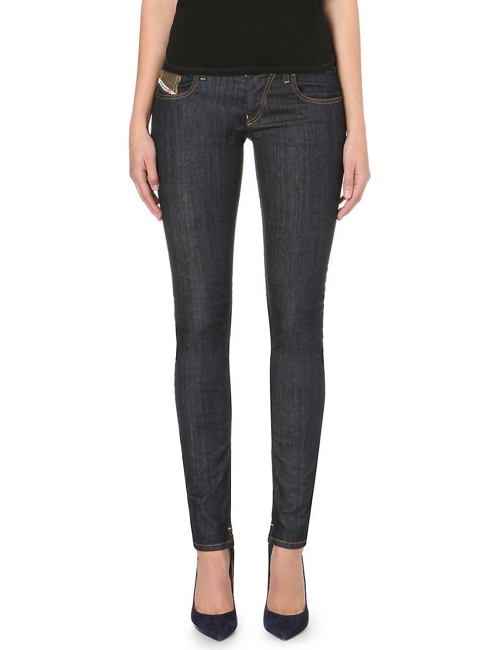 1e592fcb DIESEL - Grupee mid-rise skinny jeans | Selfridges.com
