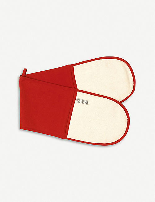 LE CREUSET: Double cotton and nylon oven glove