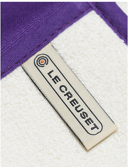 LE CREUSET Double cotton and nylon oven glove