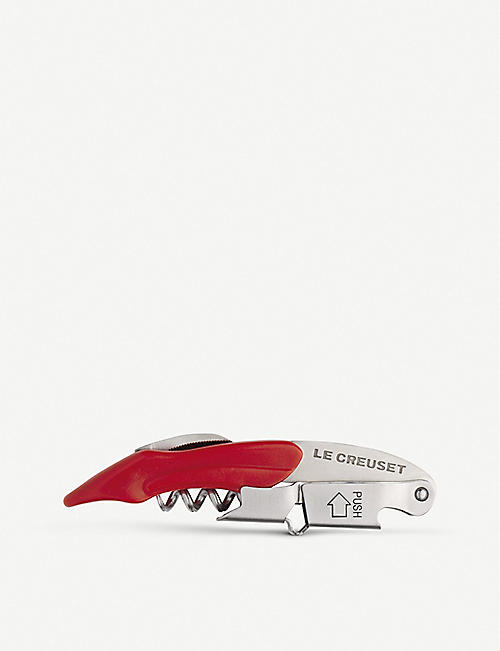 LE CREUSET Waiter's Friend two-step corkscrew