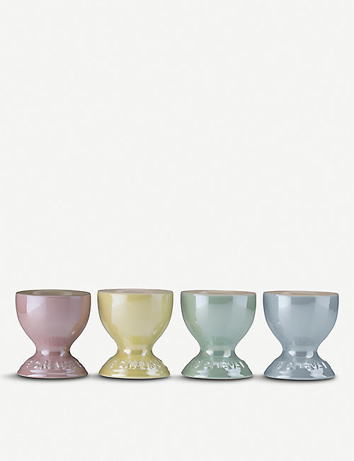 LE CREUSET The Glacé Collection egg cups set of 4