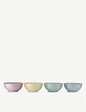LE CREUSET Glacé Collection Dip Bowls 180ml Set of 4