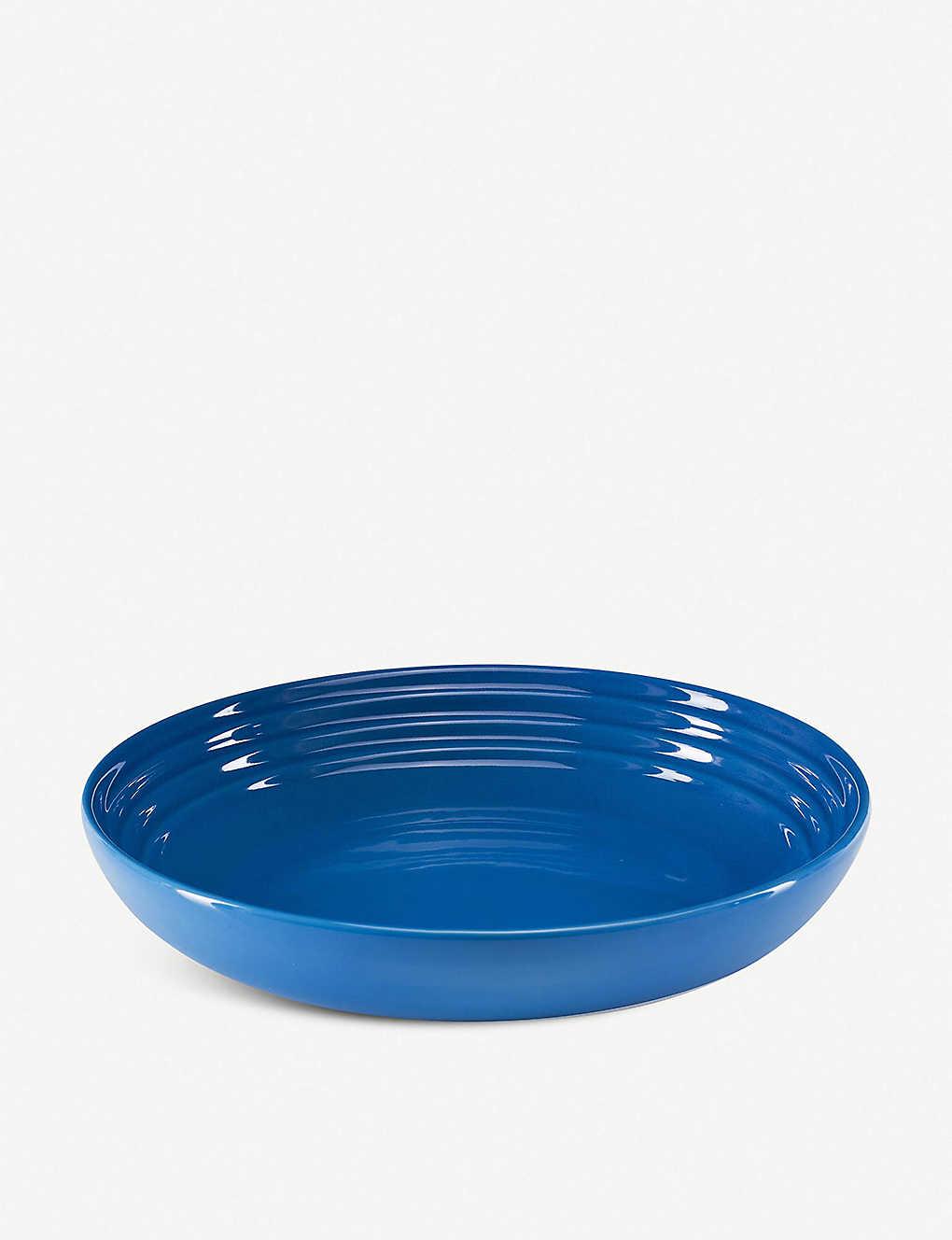 LE CREUSET: Stoneware pasta bowl 22cm