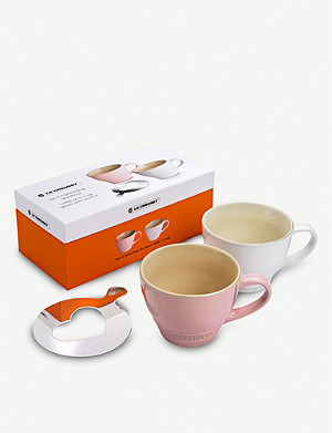 LE CREUSET Stoneware mugs set of two