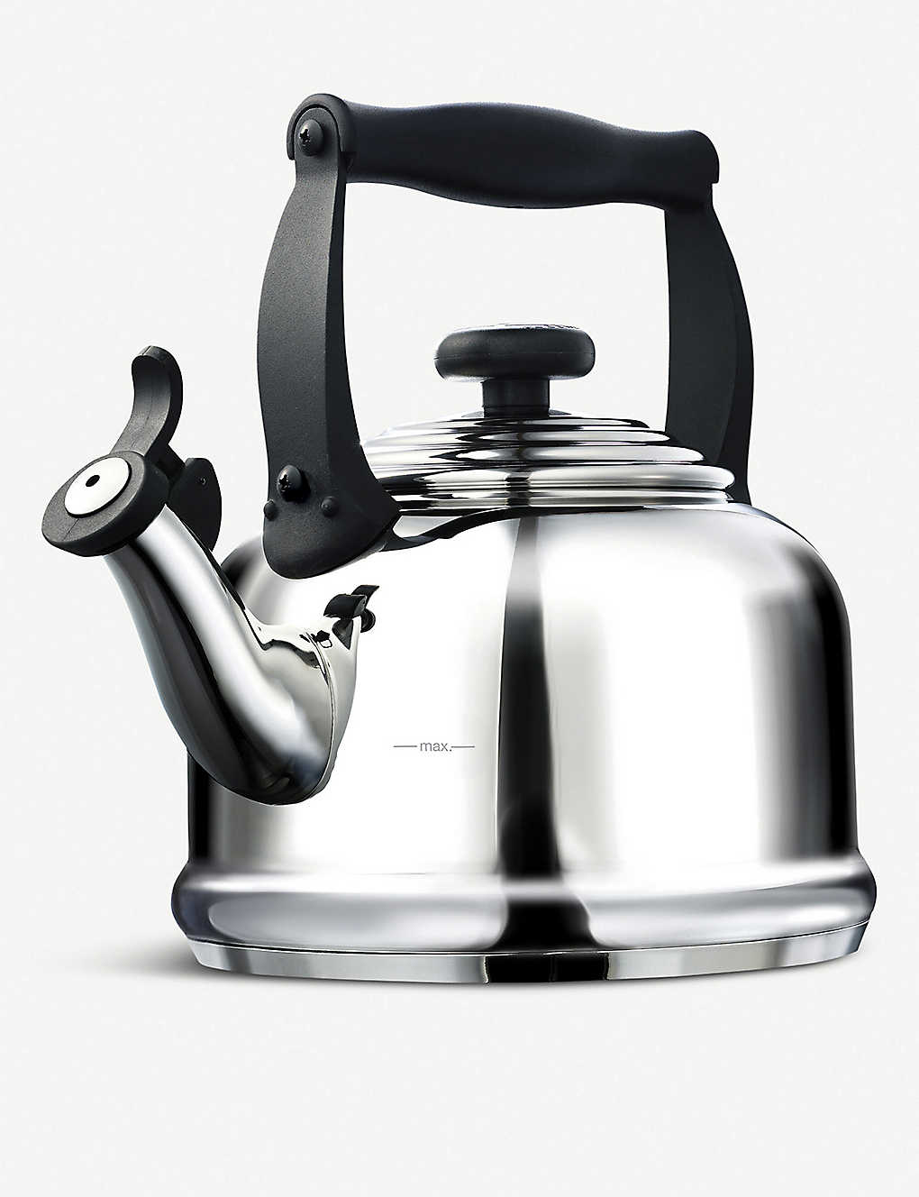 LE CREUSET: Traditional stainless steel kettle