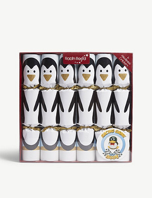 CHRISTMAS Penguin racer crackers