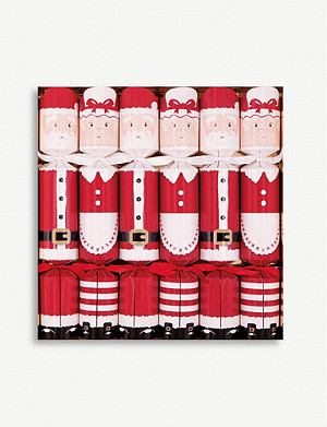 CRACKERS Mr & Mrs Clause Christmas crackers