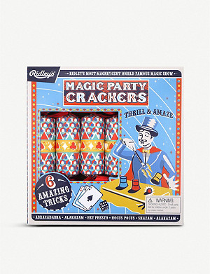 CRACKERS Ridley's Magic Tricks Christmas crackers