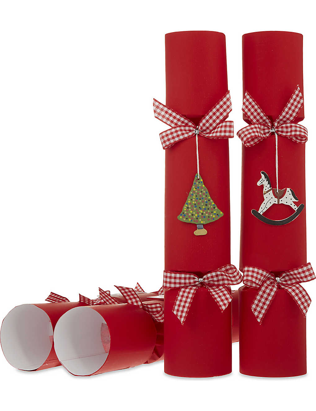Christmas Cracker Toys.Crackers Wooden Toys Super Deluxe Crackers Set Of Six 32cm