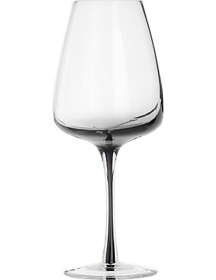 BROSTE: Smoke white wine glass