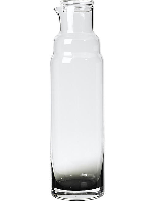 BROSTE: Smoke glass carafe
