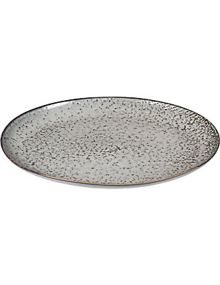 BROSTE: Nordic Sea stoneware serving oval plate