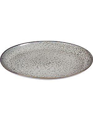 BROSTE Nordic Sea stoneware serving oval plate