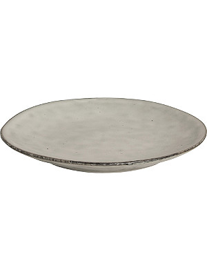 BROSTE Nordic Sand stoneware side plate