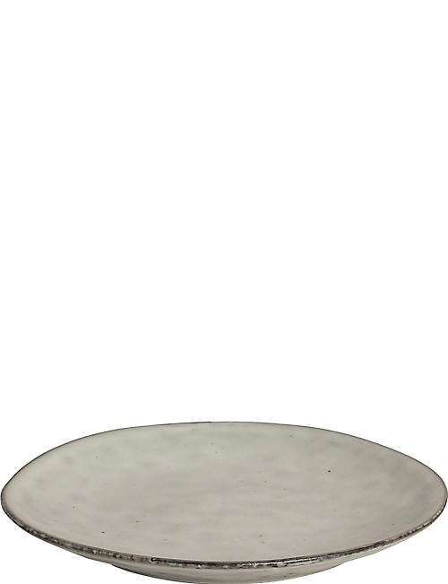 BROSTE: Nordic Sand stoneware side plate