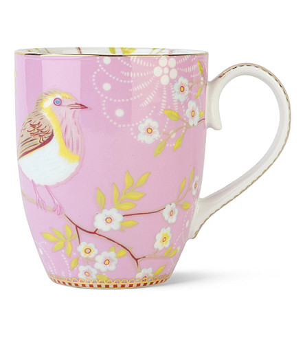 Pip Studio Large Pink Early Bird Mug On Popscreen