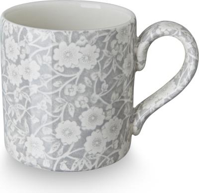 Espresso Cup Dove Grey Calico 233128N Burleigh