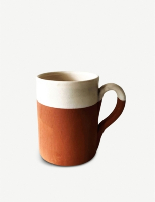 CASA CUBISTA Two-tone ceramic mug